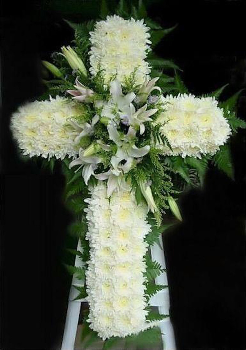 Hình hoa hình thập giá cho người Thiên Chúc