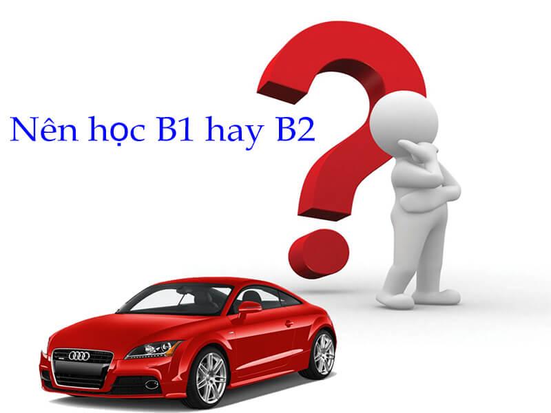 Bằng lái xe B1 và B2