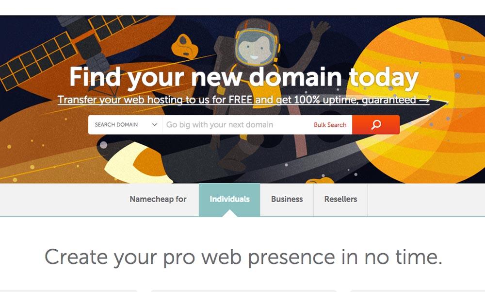 Tìm và kiểm tra tính khả dụng của domain