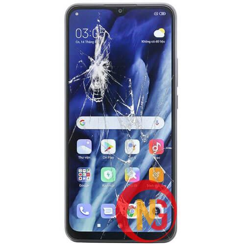 Màn hình Xiaomi bị bể nát