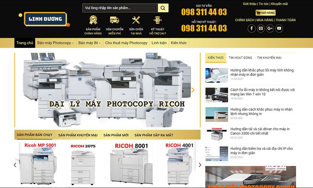 Linh Dương chuyên cung cấp các linh kiện máy photocopy Toshiba chính hãng
