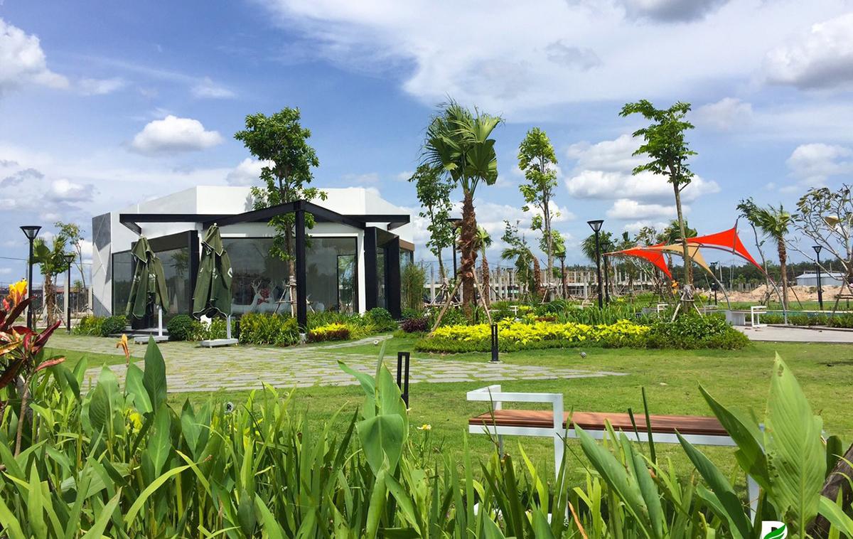 Công viên cây xanh tại dự án