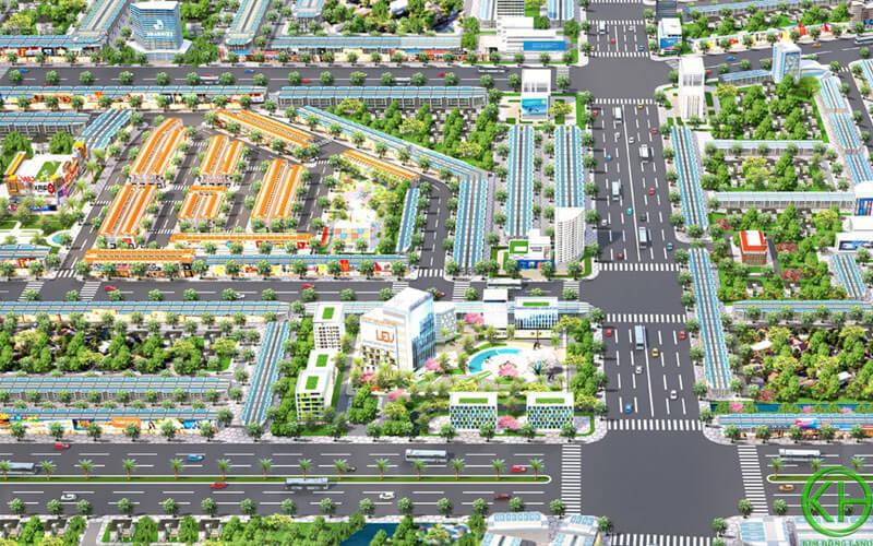 Quy hoạch dự kiến khu công Bàu Bàng năm 2030